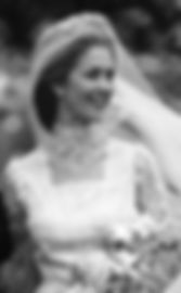 Penelope (then Lady Romsey) on her wedding day