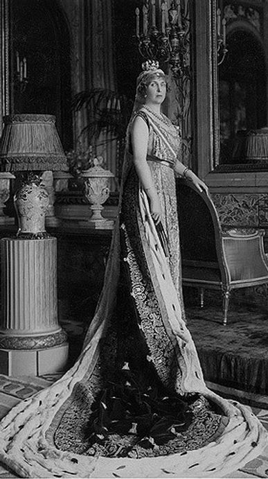 Victoria Eugénie whilst Queen of Spain