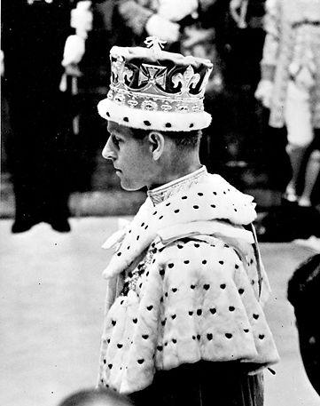  Philip, The Duke of Edinburgh during the Coronation of Queen Elizabeth II 