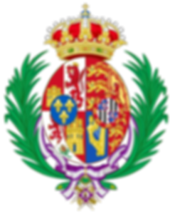 The arms of Victoria Eugénie whilst Queen of Spain ​