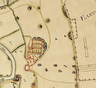 A map of the  old Broadlands estate