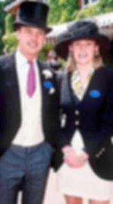 George & Sarah at Royal Ascot 
