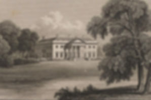  An early 19th Century engraving of Broadlands 
