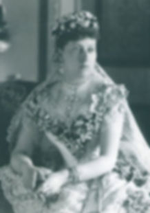 Princess Beatrice in her wedding dress 