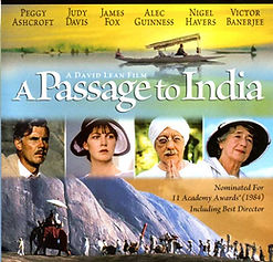 "Film poster for ""A Passage to India"" ​"