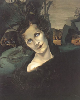 The 1940 portrait of Edwina by Salvador Dali