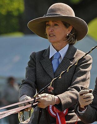 Penelope, Countess Mountbatten of Burma at the Royal Windsor Horse Show