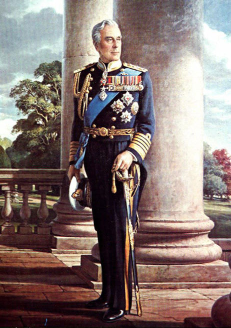 Admiral of the Fleet The Rt Hon. Lord Louis Mountbatten, 1st Earl Mountbatten of Burma 1900-1979 In Memoriam