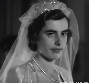 Patricia on her wedding day