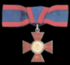The insignia of The Royal Red Cross (RRC) 