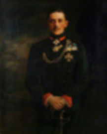 A painting of Prince Maurice of Battenberg ​