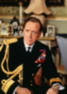 Nicl Williamson portraying Mountbatten