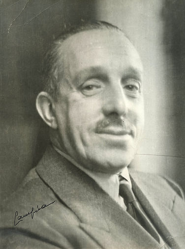 King Alfonso XIII whilst in exile
