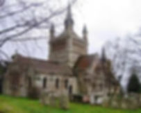St Mildred's Church, Whippingham on the Isle of Wight 