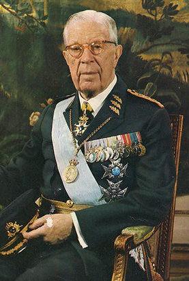 King Gustaf VI Adolf of Sweden  