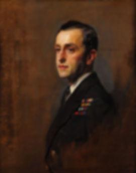 A 1924  portrait of George by society artist Philip de László  