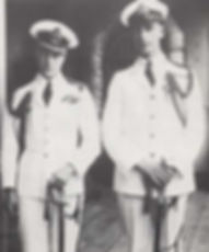 Prince Edward, The Prince of Wales (left) with Mountbatten (right) on The Prince's Empire Tour