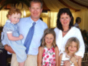 Ivar & Penelope with their children in 2005