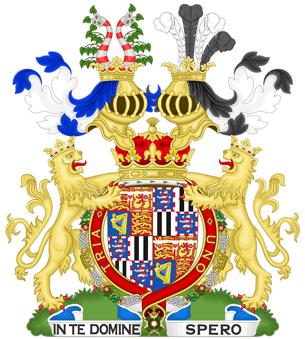 The arms of Alexander, Marquess of Carisbrooke 