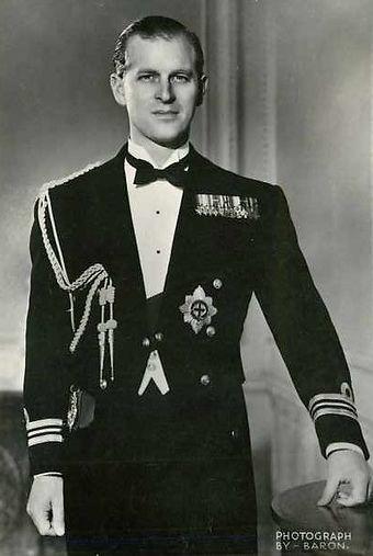  A photographic portrait of Philip, The Duke of Edinburgh by Baron 
