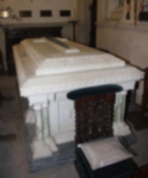The grave of Prince Henry of Battenberg at St Mildred's Church, Whippingham on the Isle of Wight