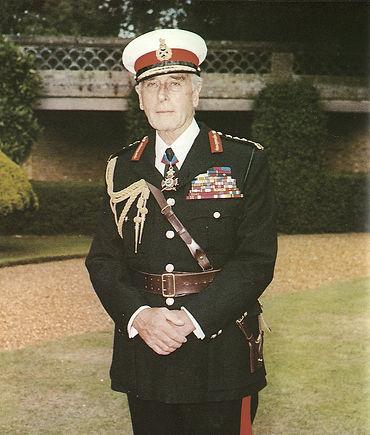 Mountbatten - Life Colonel Commandant of HM Royal Marines at Broadlands