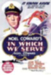 "Film poster for ""In Which We Serve"""