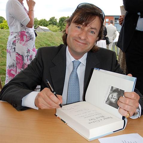 Timothy Knatchbull at a book signing 