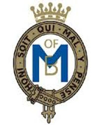 Mountbatten's cypher -  now used as the emblem/badge of The Mountbatten School