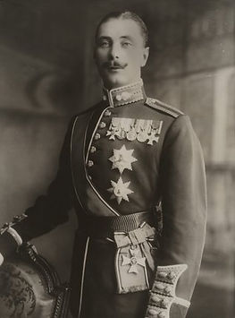 Prince Alexander of Battenberg in the uniform of a Captain within the Grenadier Guards ​
