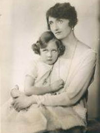 ​ Iris in the arms of her mother -  Irene, The Marchioness of Carisbrooke ​