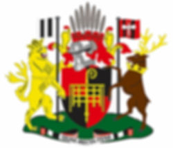 The arms of Romsey Town Council 