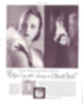  A Pond's Cream advertisement featuring Lady Iris Mountbatten 