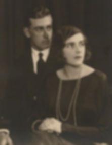 An engagement photograph of Mountbatten & Edwina