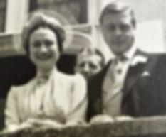The Duchess of Windsor (Mrs Wallis Simpson) & Prince Edward, The Duke of Windsor following their wedding 