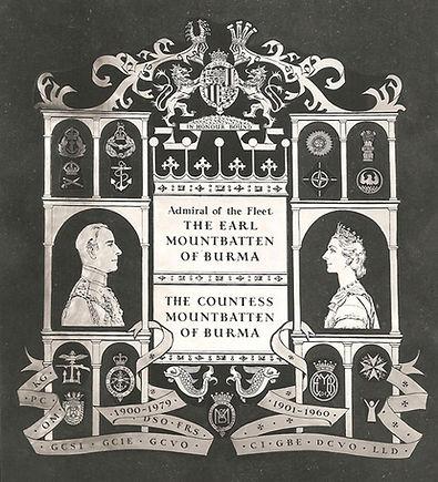 The Mountbatten Memorial, Westminster Abbey