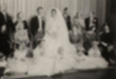The wedding of Lady Pamela Mountbatten & David Hicks 