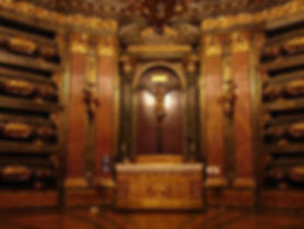 Victoria Eugénie's final resting place -  the Royal Vault at the Royal Site of San Lorenzo de El Escorial, Madrid