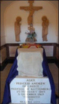 Alice's grave at The Church of St Mary Magdalene on the Mount of Olives, Jerusalem 