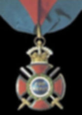 The insignia of the Order of Merit (Military Division)