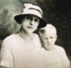 Alice with her only son -  Prince Philip (now Duke of Edinburgh)  ​