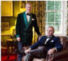 Lord Ivar & James on their wedding day 