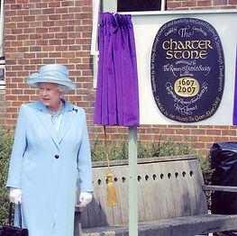 Queen Elizabeth II  at Romsey's 400th Charter celebrations 