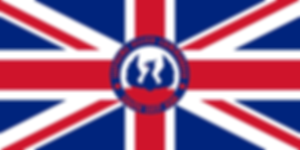 Mountbatten's flag as Supreme Allied Commander SE Asia (SACSEA)