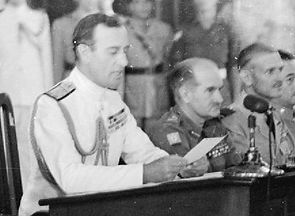  Mountbatten reading the terms of surrender to the Japanese representatives