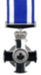 The insignia of the Meritorious Service Cross (Military Division)