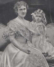"Edwina with her mother -  ""Maudie"" Ashley (née Cassel)"