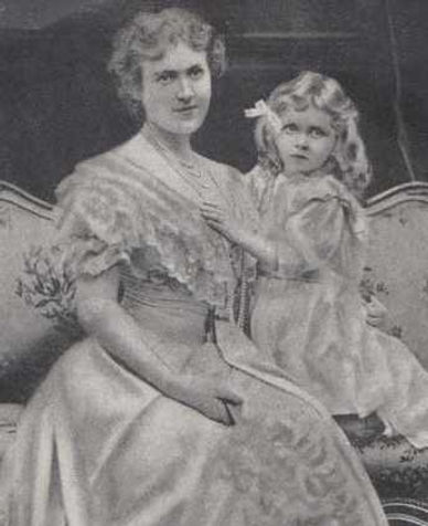 """Edwina with her mother -  """"Maudie"""" Ashley (née Cassel)"""