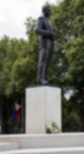 The Mountbatten Statue, Mountbatten Green, off Horse Guards, London