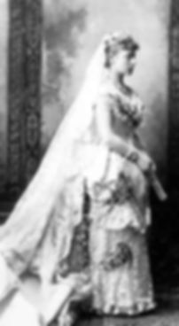 Mountbatten's mother -  Princess Victoria  of Hesse & By the Rhine (Princess Louis of Battenberg) in her wedding dress